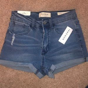 """PacSun """"the shortie"""" High Waisted Shorts"""